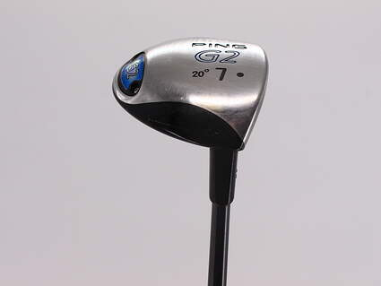 Ping G2 Fairway Wood 7 Wood 7W 20° Ping TFC 100F Graphite Regular Right Handed 42.75in
