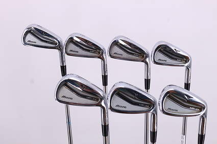 Mizuno MP-54 Iron Set 4-PW Project X Rifle 5.5 Steel Stiff Right Handed 37.75in