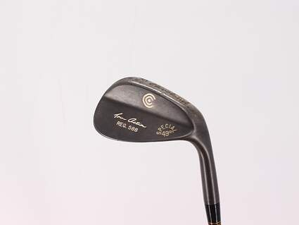 Cleveland 588 Gunmetal Wedge Pitching Wedge PW 49° Rifle Flighted 5.0 Steel Regular Right Handed 36.5in