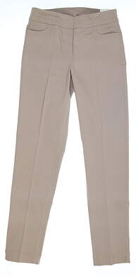 New Womens Slim Station Pants 4 Khaki MSRP $69