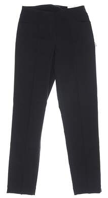 New Womens Slim Station Pants 4 Black MSRP $69