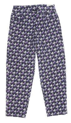New Womens Slim Station Pants 10 Multi MSRP $69