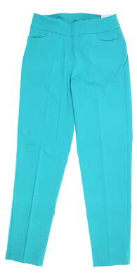 New Womens Slim Station Pants 2 Jade MSRP $69