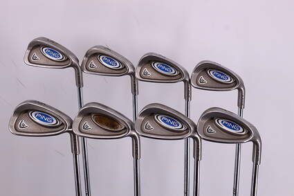 Ping i5 Iron Set 5-PW GW SW Ping CS Lite Steel Regular Right Handed Maroon Dot 39.0in