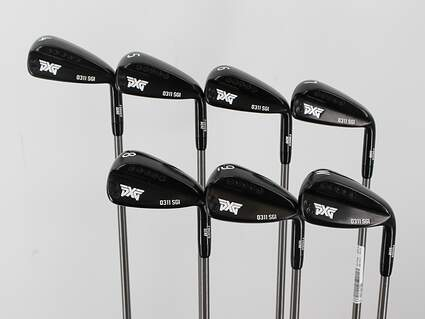 PXG 0311 SGI GEN2 Xtreme Dark Iron Set 4-PW Aerotech SteelFiber i70 Graphite Regular Right Handed 37.5in