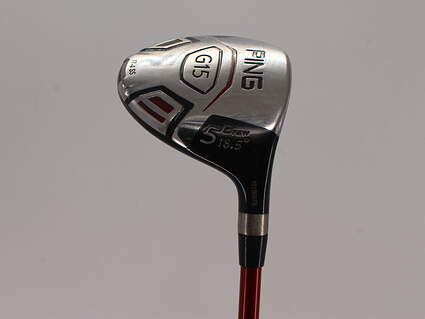Ping G15 Draw Fairway Wood 5 Wood 5W 18.5° Ping TFC 149F Graphite Regular Right Handed 42.0in