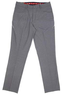New Mens Puma Heather Jackpot 5 Pocket Pants 32 x32 Quiet Shade MSRP $85 578796 01