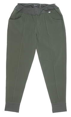 New Mens Puma Cruz Golf Jogger Small S Thyme MSRP $75 597722 02