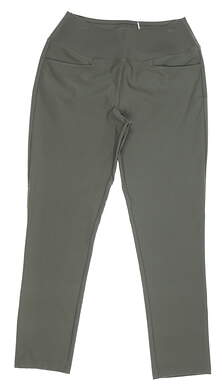 New Womens Puma PWRSHAPE Pants Small S Thyme MSRP $80 595859 08