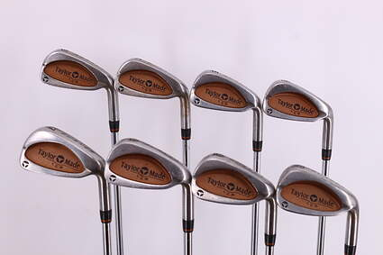 TaylorMade Burner LCG Iron Set 3-PW TM R-80 Steel Steel Regular Right Handed 37.5in