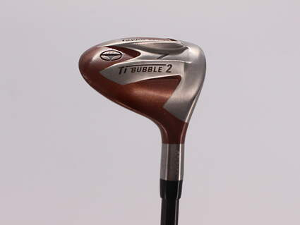 TaylorMade Ti Bubble 2 Fairway Wood 7 Wood 7W TM Bubble 2 Graphite Senior Right Handed 42.5in