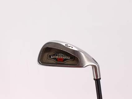 Callaway 2002 Big Bertha Single Iron 5 Iron Callaway RCH 96 Graphite Stiff Right Handed 38.0in