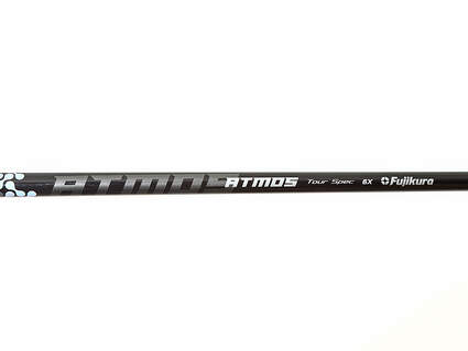 Used W/ Adapter Fujikura Atmos Black Tour Spec Black 6 Driver Shaft X-Stiff 43.25in Right Handed TaylorMade Adapter MSRP $300