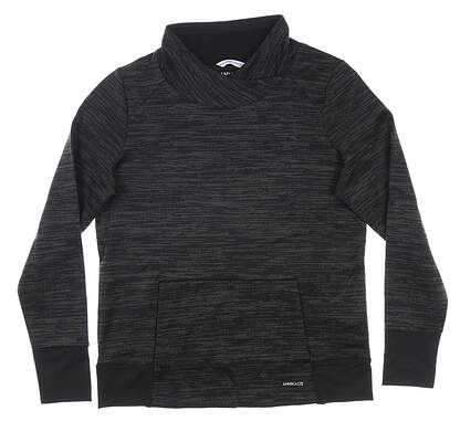 New Womens Cutter & Buck Annika Direction Pullover Small S Black MSRP $125 LAK00100