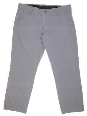 New Mens Under Armour Match Play Pants 40 x30 Gray MSRP $85 UM8811