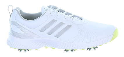 New Womens Golf Shoe Adidas Response Bounce Medium 6 White MSRP $85 F33664