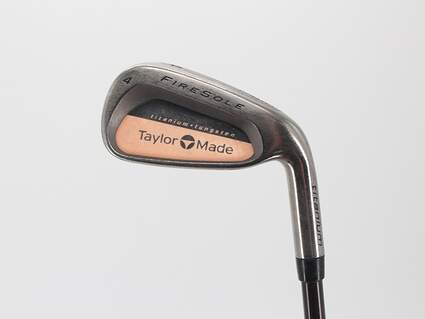 TaylorMade Firesole Single Iron 4 Iron TM Bubble Graphite Regular Right Handed 38.5in