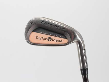 TaylorMade Firesole Single Iron 4 Iron TM Bubble Graphite Regular Right Handed 37.75in