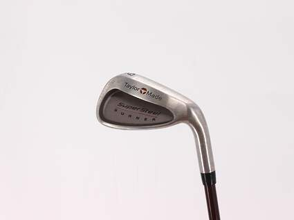 TaylorMade Supersteel Single Iron 9 Iron TM Bubble Graphite Stiff Right Handed 36.5in
