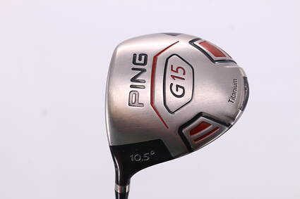 Ping G15 Driver 10.5° Grafalloy ProLaunch Red Graphite Stiff Left Handed 46.25in
