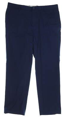 New Mens Adidas Adipure Pants 38 x32 Navy Blue MSRP $100 BC7487