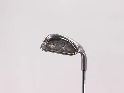 Ping ISI K Single Iron Pitching Wedge PW 47° Ping JZ Steel Stiff Right Handed Blue Dot 35.75in