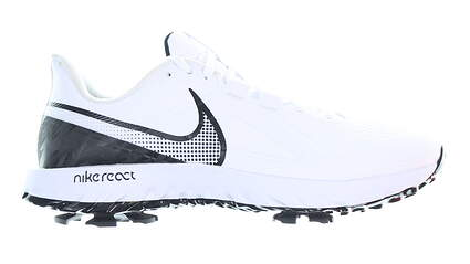 New Mens Golf Shoe Nike React Infinity Pro 9.5 White/Black MSRP $120 CT6620 102