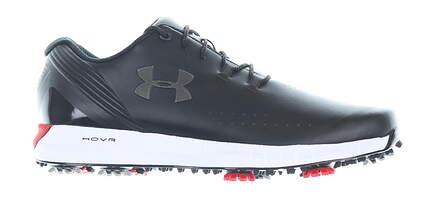 New Mens Golf Shoe Under Armour UA HOVR Drive Wide E 10 Black MSRP $160 3022294-001