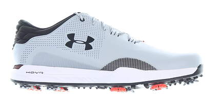 New Mens Golf Shoe Under Armour UA HOVR Matchplay Wide E 12 Gray MSRP $140 3023329-103