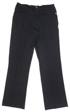 New Womens Tail Classic Golf Pants 12 Black MSRP $85