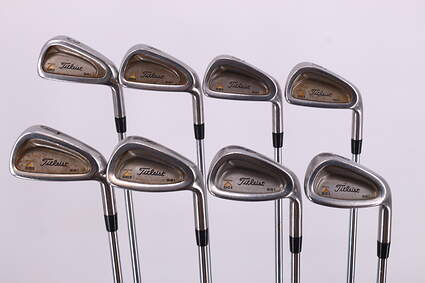 Titleist DCI 981 Iron Set 3-PW Dynamic Gold Sensicore R300 Steel Regular Right Handed 38.5in