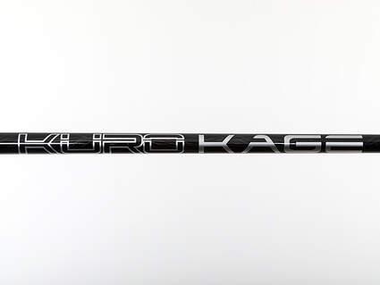 Used W/ Adapter Mitsubishi Rayon Kuro Kage Black TiNi Fairway Shaft Regular 42.25in
