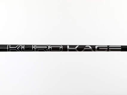 Used W/ Adapter Mitsubishi Rayon Kuro Kage Black TiNi Fairway Shaft Regular 41.25in