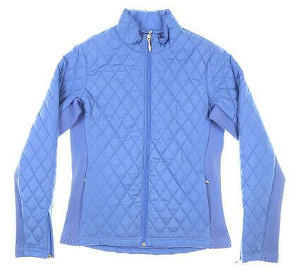 New Womens Straight Down Elm Jacket Small S Blue MSRP $136 W60224