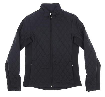New Womens Straight Down Elm Jacket Small S Black MSRP $136 W60224