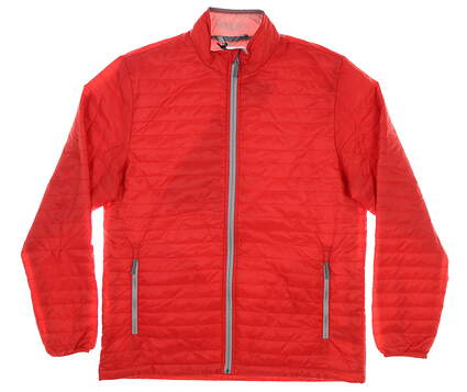 New Mens Straight Down Jacket Medium M Red MSRP $136 60493