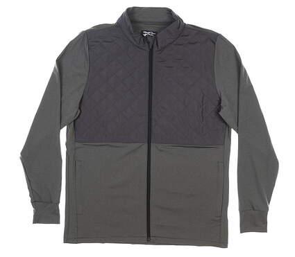 New Mens Straight Down Boundary Jacket Medium M Gray MSRP $136 60470