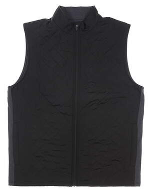 New Mens Straight Down Ridge Vest Large L Black MSRP $130 11101