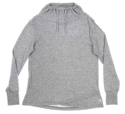 New Womens Straight Down Misty Pullover Small S Gray MSRP $88 W60299