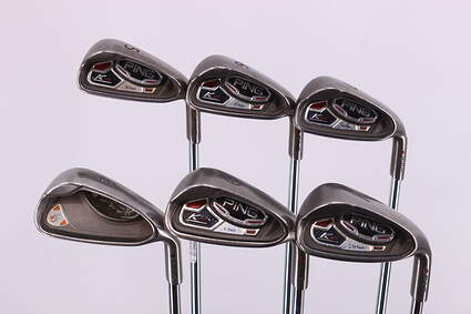 Ping K15 Iron Set 5-PW Ping AWT Steel Stiff Right Handed Maroon Dot 38.25in