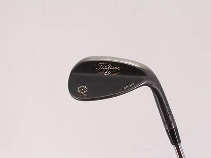 Titleist Vokey SM5 Raw Black Wedge Lob LW 58° 11 Deg Bounce K Grind Titleist SM5 BV Steel Wedge Flex Right Handed 35.0in