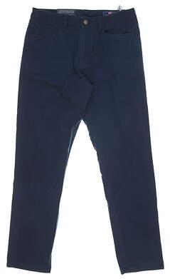 New Mens Vineyard Vines Slim 5 Pocket Pants 32 x32 Navy Blue MSRP $99 1P000006-410