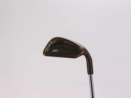 Ping ISI Beryllium Copper Single Iron Pitching Wedge PW Ping Z-Z65 Steel Stiff Right Handed Black Dot 35.75in