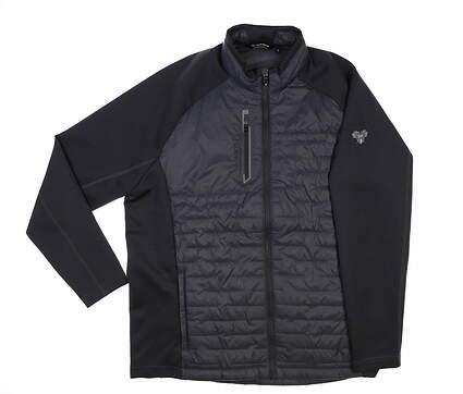 New W/ Logo Mens SUNICE Hamilton Thermal Hybrid Jacket X-Large XL Charcoal MSRP $155 S72001