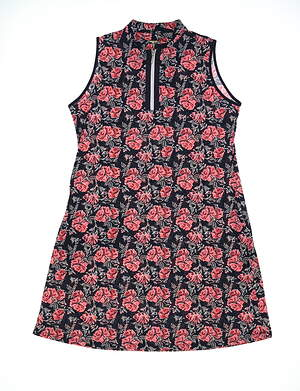 New Womens Sport Haley Golf Dress Large L Multi MSRP $109 H20412DM