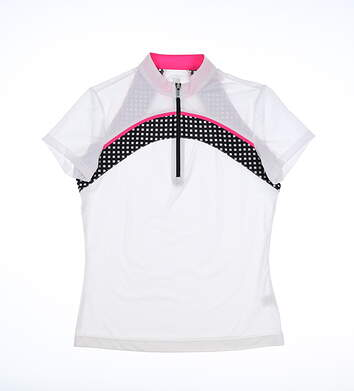New Womens Tail Golf Polo X-Small XS Multi MSRP $90 GD0087-1200