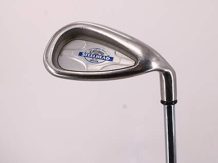 Callaway X-14 Single Iron Pitching Wedge PW Stock Steel Shaft Steel Regular Right Handed 36.0in