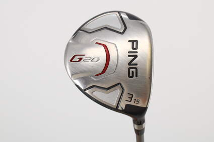 Ping G20 Fairway Wood 3 Wood 3W 15° Ping TFC 169F Graphite Stiff Right Handed 42.75in