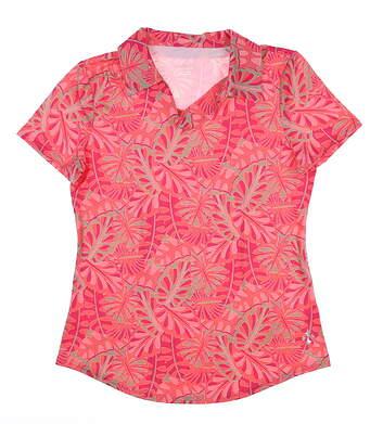 New Womens Jo Fit Vera Polo X-Small XS Pink MSRP $88 GT239-TPL