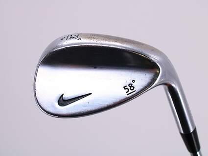 Nike Forged Wedge Lob LW 58° 16 Deg Bounce Stock Steel Shaft Steel Wedge Flex Right Handed 34.75in